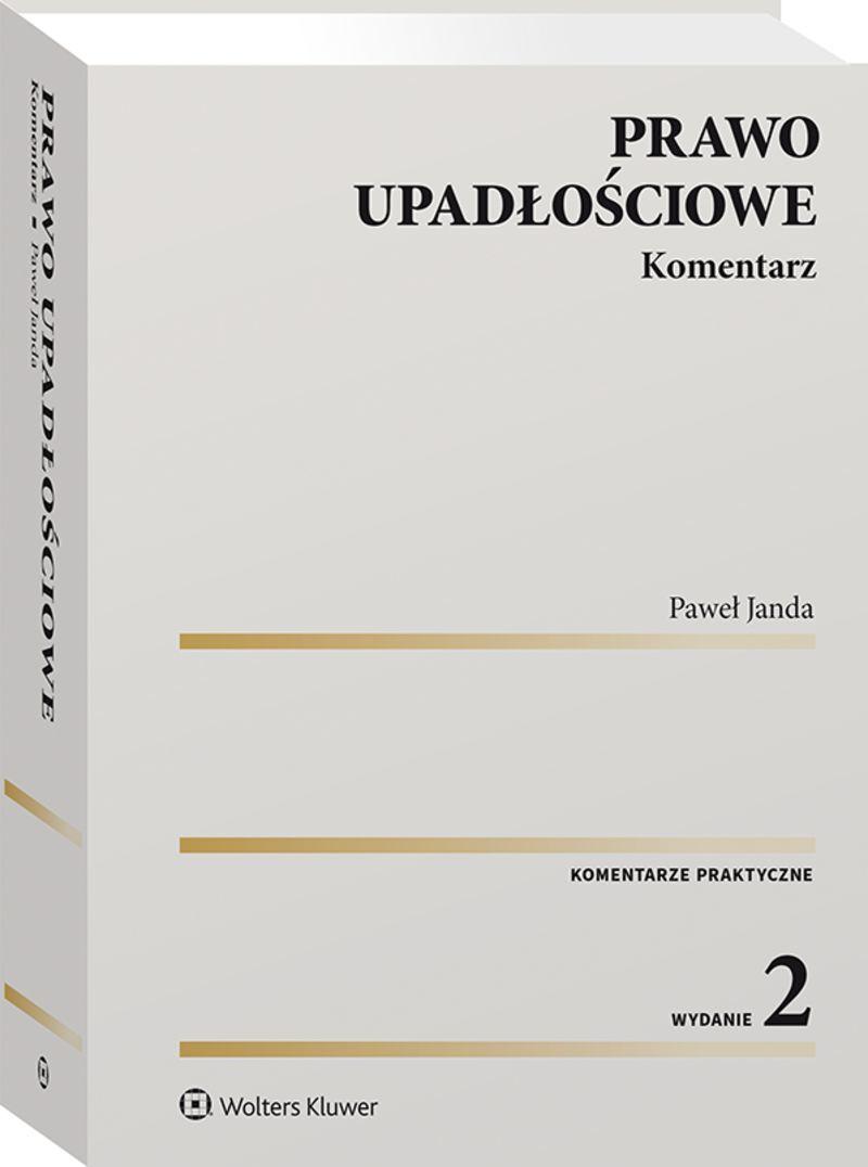 Książka Prawo Upadłościowe autorstwa Pawła Jandy